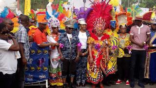 ayade in calabar carnival
