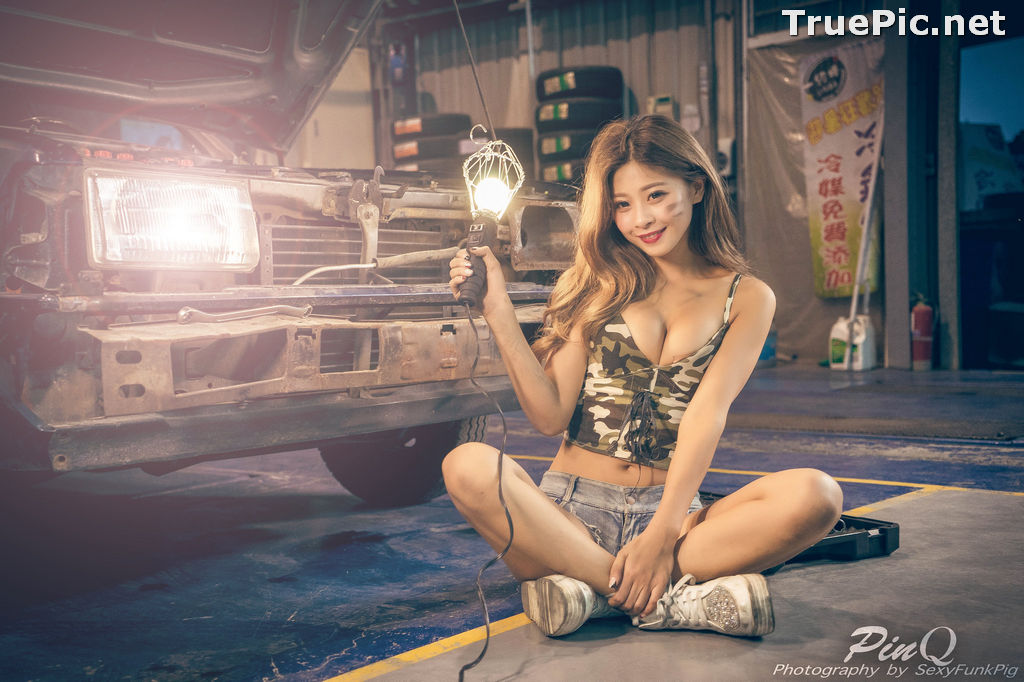 Image Taiwanese Model - PinQ憑果茱 - Hot Sexy Girl Car Mechanic - TruePic.net - Picture-5