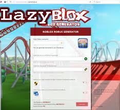 Lazy Blox Com Robux Generator 1