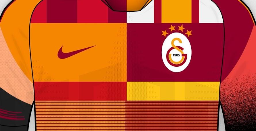 02b83ba9e What If  Nike Galatasaray Mash-Up Kit Concept by Ozando