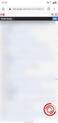 3. Maka tampilan Gmail akan langsung berubah ke versi lama