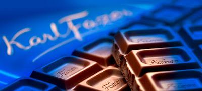 Imagen de chocolate Karl Fazer de Finlandia
