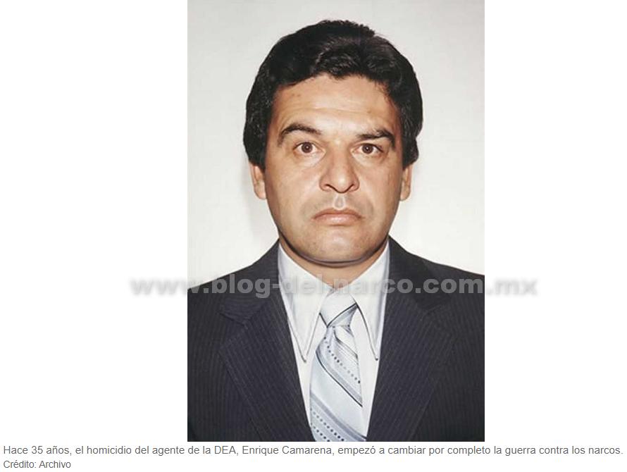 """Hoy se cumplen 35 años de que el agente de la DEA Enrique """"Kiki"""" Camarena fuera levantado y ejecutado por el Cártel de Guadalajara, esta es la historia"""