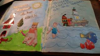 fun playful art journal,