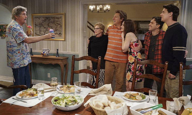 Life In Pieces - Episode 3.19 - #TBT: House Destiny Introduction Retirement - Press Release