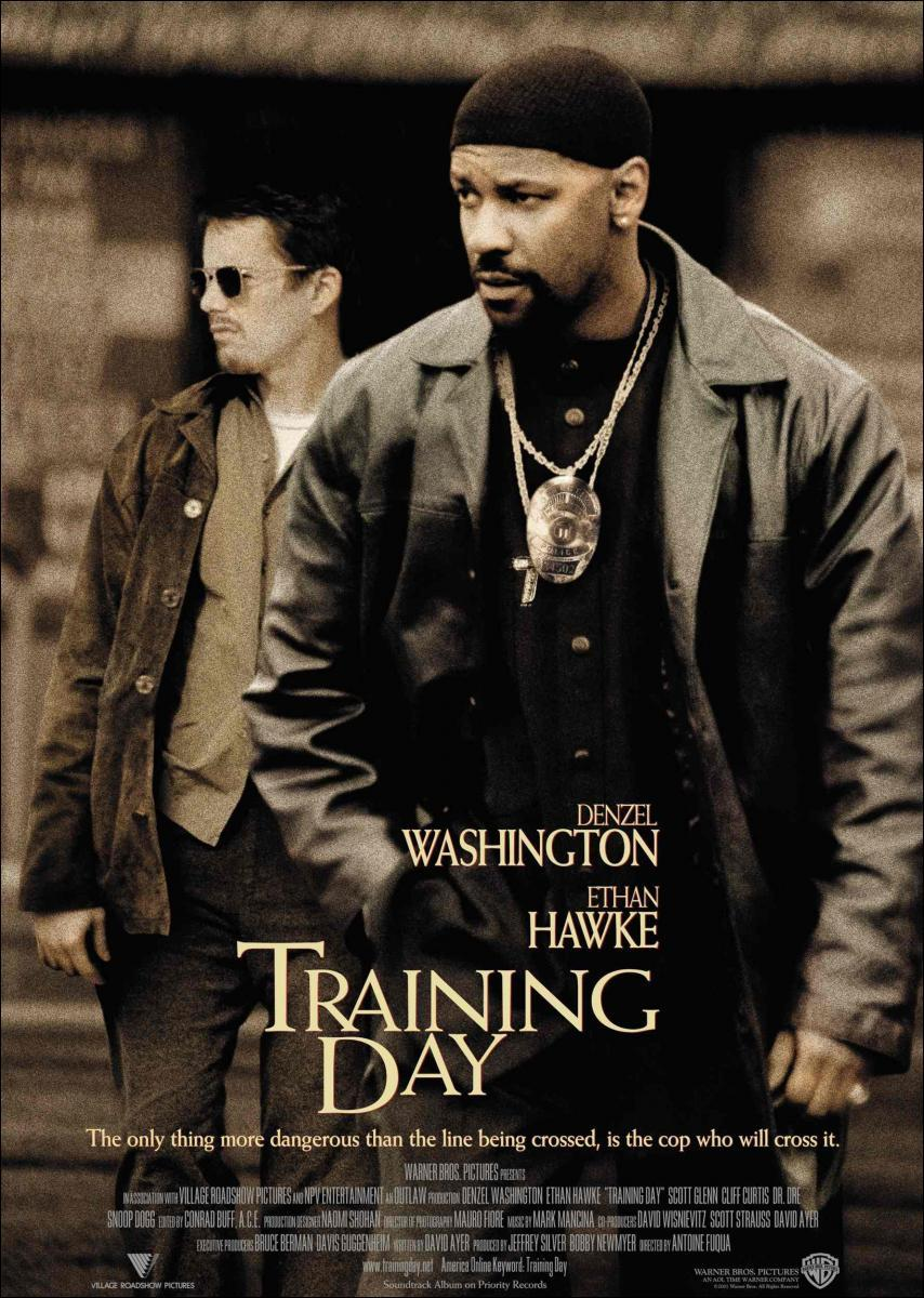 Download Training Day (2001) Full Movie in Hindi Dual Audio BluRay 720p [900MB]