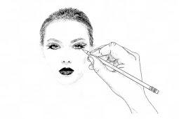 Cara menggambar Wajah manusia untuk Pemula