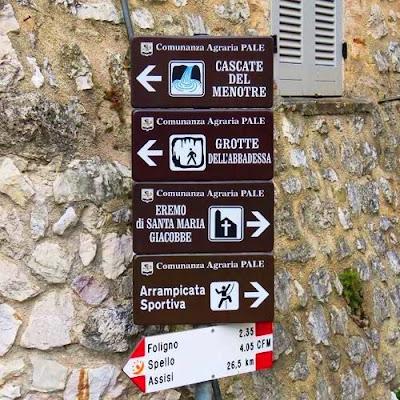 Cascata del Menotre - Turismo in Umbria