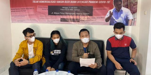 Mahasiswa Kecam Kimia Farma Jual Vaksin: Negara Tidak Boleh Berbisnis dengan Rakyatnya