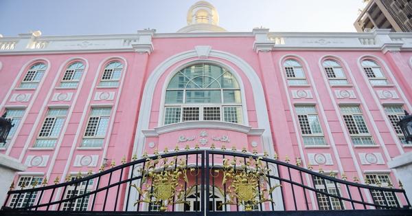 台中南屯鹿鳴村幼兒園超夢幻粉紅歐式宮廷城堡,熱門網美拍照景點