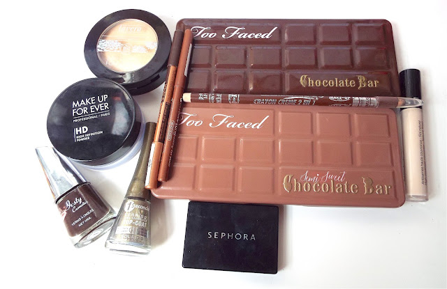 Tuto make-up chocolat