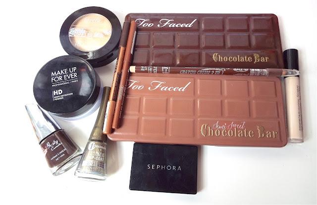 Tuto make-up chocolat