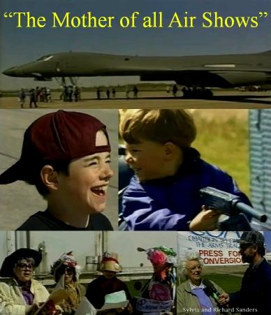 war Iraq military technology aircraft Ottawa airshow propaganda