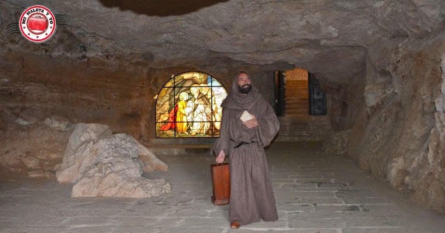 El santero de San Saturio, Soria, España