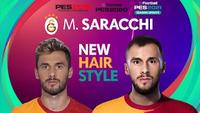 PES 2021 Faces Marcelo Saracchi by PES Football Turkey