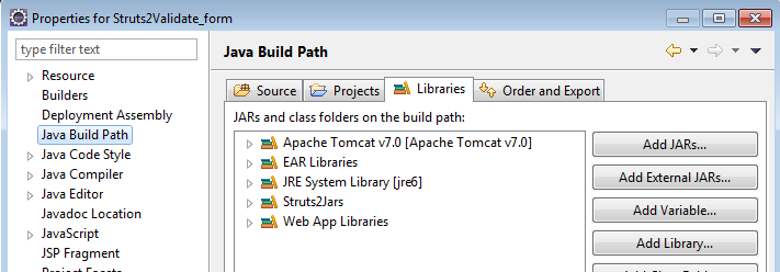 Validating xml files in eclipse