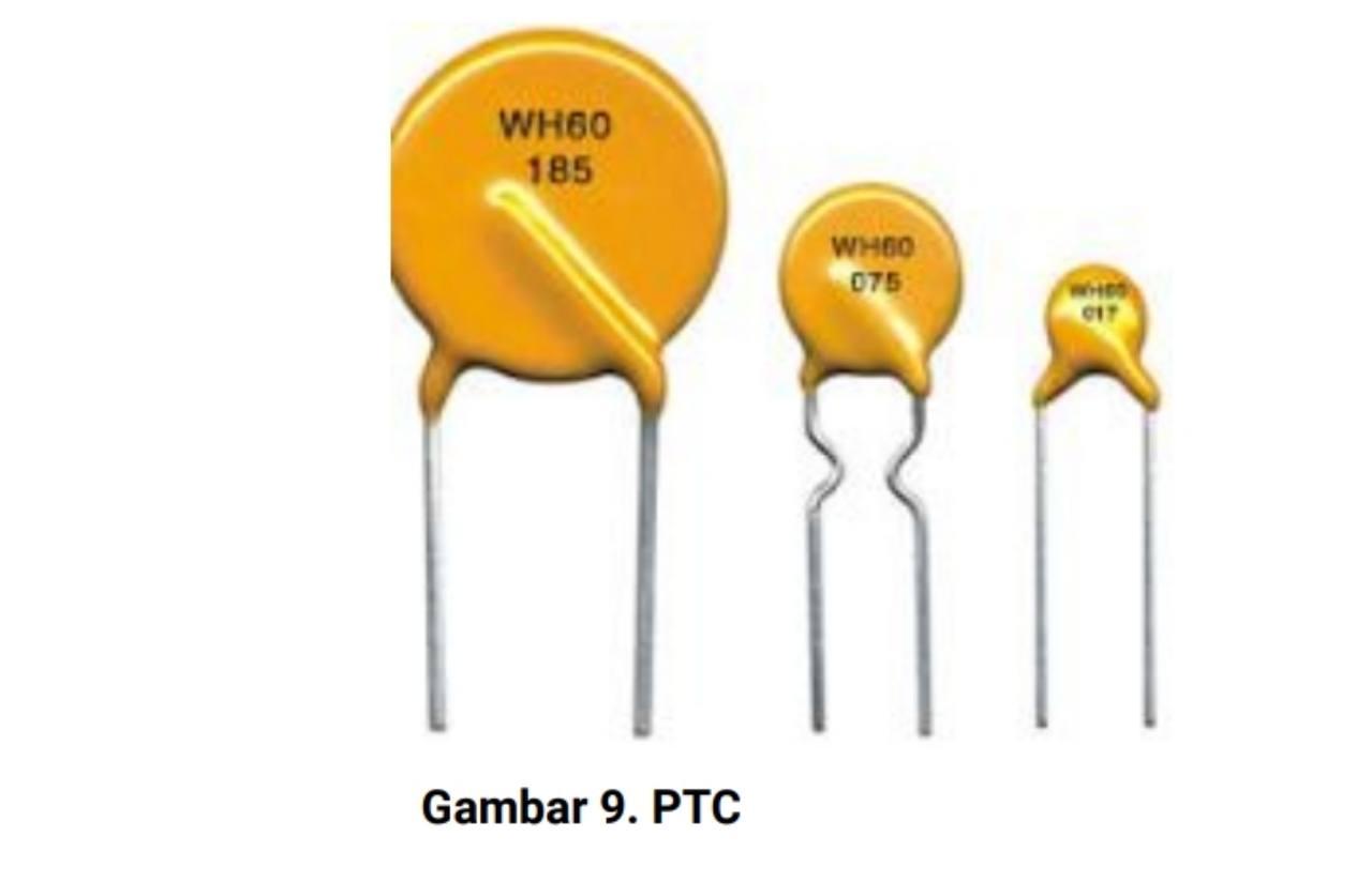 Jenis resistor PTC