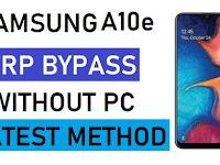 Cara Atasi Samsung Galaxy A10e Lupa Email - FRP Bypass