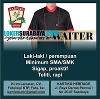 Loker Surabaya di Kartiko Heritage Terbaru Juli 2020
