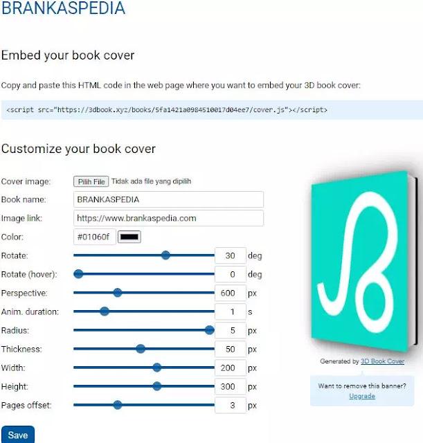 cara membuat cover buku 3d secara online-2
