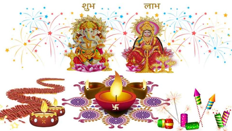 """Diwali"", the festival of lights, crackers, dias, fireworks"