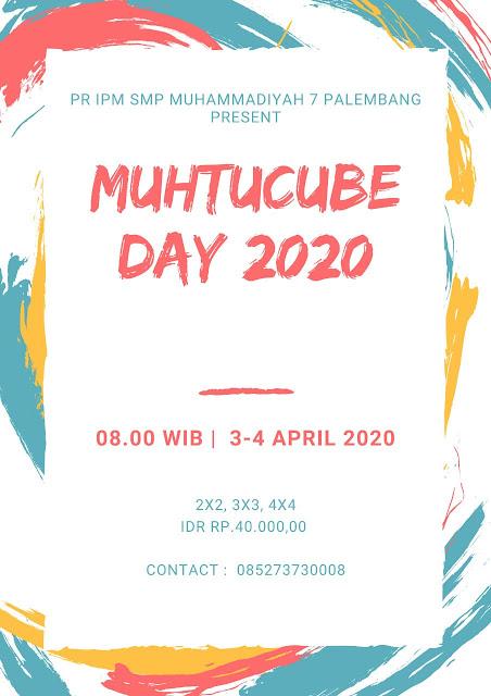 Muhtucube Day 2020 poster