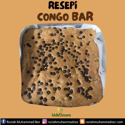 Resepi Mudah Congo Bars