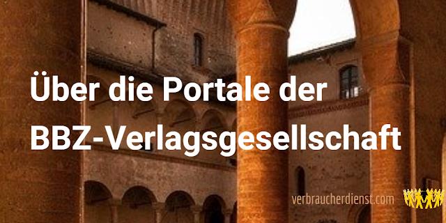 Titel: Über die Portale der BBZ-Verlagsgesellschaft