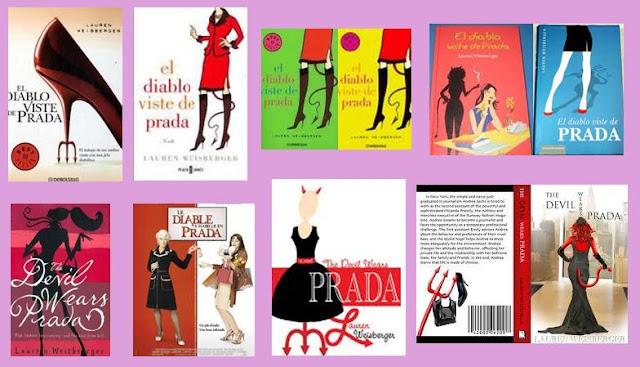 portadas de la novela chick lit El diablo viste de Prada, de Lauren Waisberger