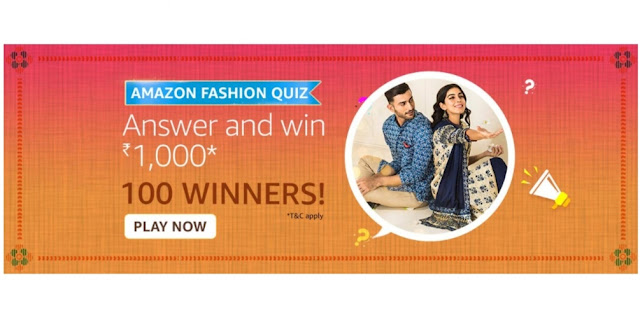 Amazon Fashion Quiz Answers