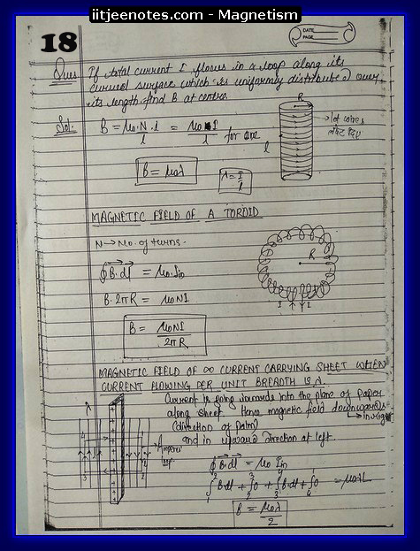 Magnetism Notes 3