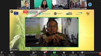Launching Program Echo Green, Pemkab Lombok Timur Ikut Ambil Bagian