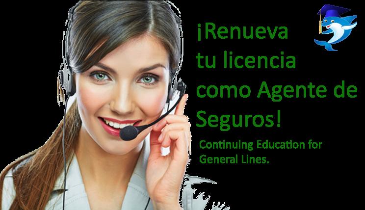 Obtener en idioma espanol licencia de seguros