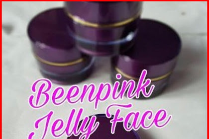 Jual Jelly Face Been Pink Spotles White Glow UV