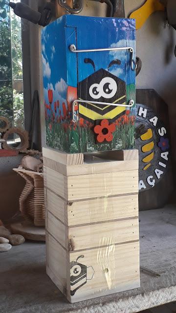Caixas para abelhas nativas sem ferrão