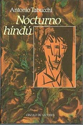 NOCTURNO HINDÚ de Antonio Tabucchi