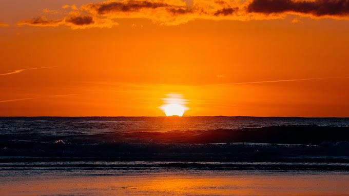 Linda Paisagem, Natureza, Entardecer, Pôr do Sol