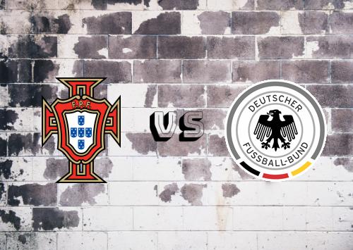 Portugal vs Alemania  Resumen y Partido Completo