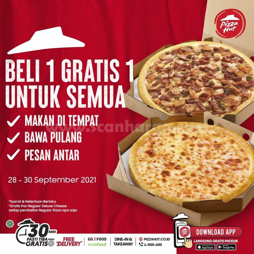 Promo PIZZA HUT GAJIAN – Spesial BELI 1 GRATIS 1