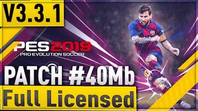 PES 2019 Mobile Minimum Patch 2019 ( PES 2019 v3.3.1 )