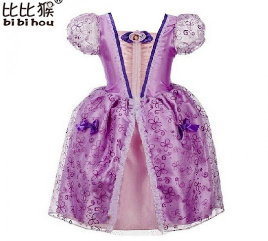 BAJU SOFIA THE FIRST