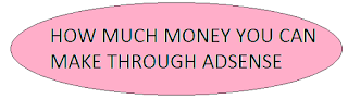 how much money through adsense - Kingbloggers