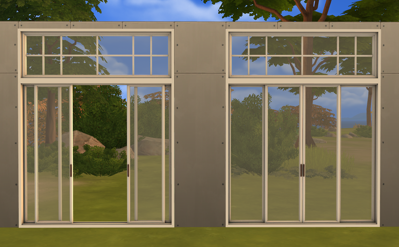 Sims 4 Cc S The Best Sunset Windows And Doors By Minc78