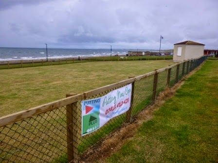 Putting Green at Prestwick Beach