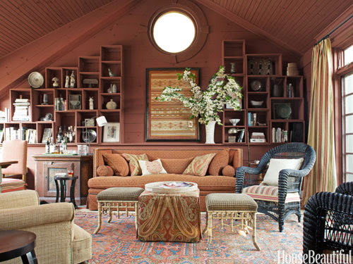 Simple details a collection of ideas for decorating two - How to decorate high walls with cathedral ceiling ...