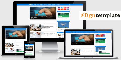 Msify Free Responsive Blogger Template-dgntempplate