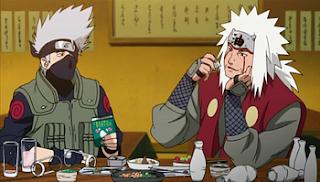 Kakashi y Jiraiya