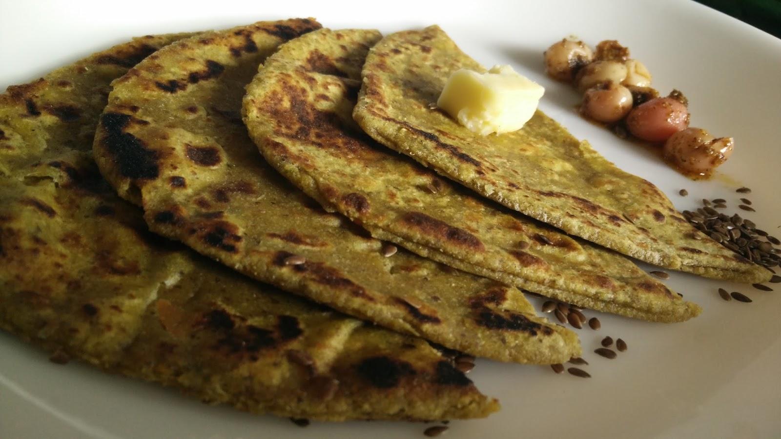 Flax Seed Paratha Mix Veg Paratha Healthy Kadai