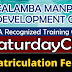 6 Training Courses  Saturday Class (2020) by CMDC | No Matriculation Fee
