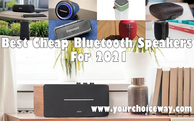 Best Cheap Bluetooth Speakers For 2021 - Your Choice Way